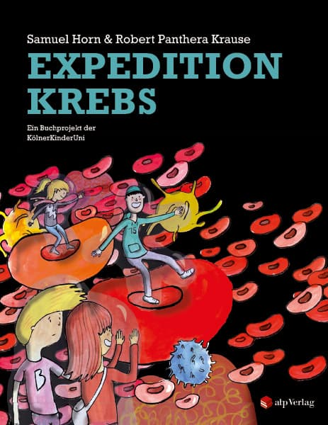 "Buch-Cover ""Expedition Krebs."""